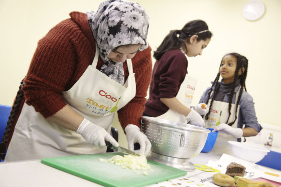 NHS Kids in the Kitchen Healthy Eating Campaign