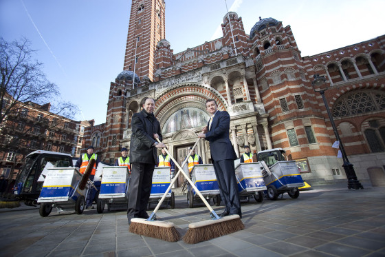 Westminster City Council Cleaning Contract Publicity