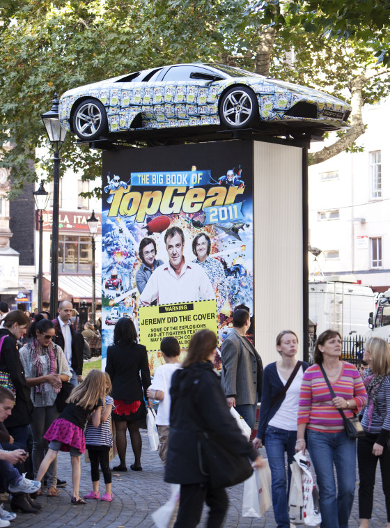 Topgear Annual Launch Publicity