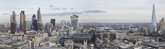London Panorama from St Pauls Cathedral