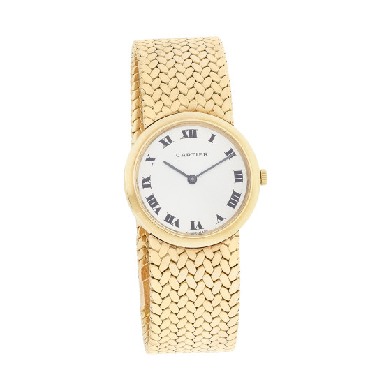 Cartier Antique Watch - Ecommerce product shot - white background
